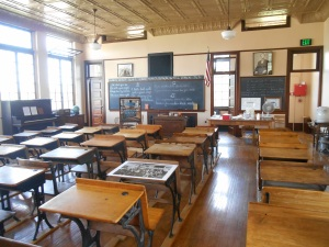 Inside of the Reed School, Neillsville, Wisconsin